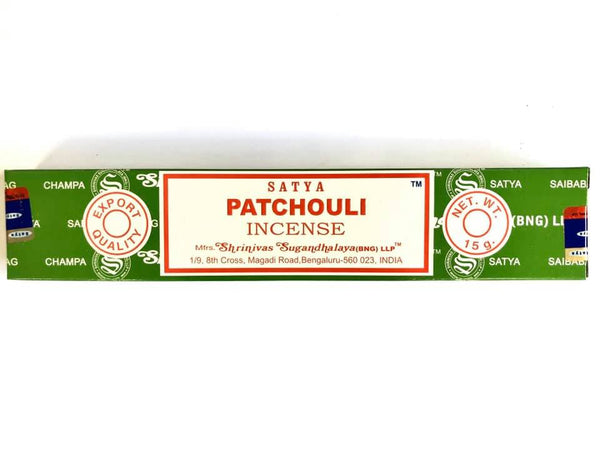 Incense Satya Patchouli 15gm