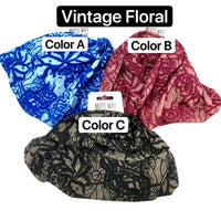 Head Wrap Multi Way Vintage Floral