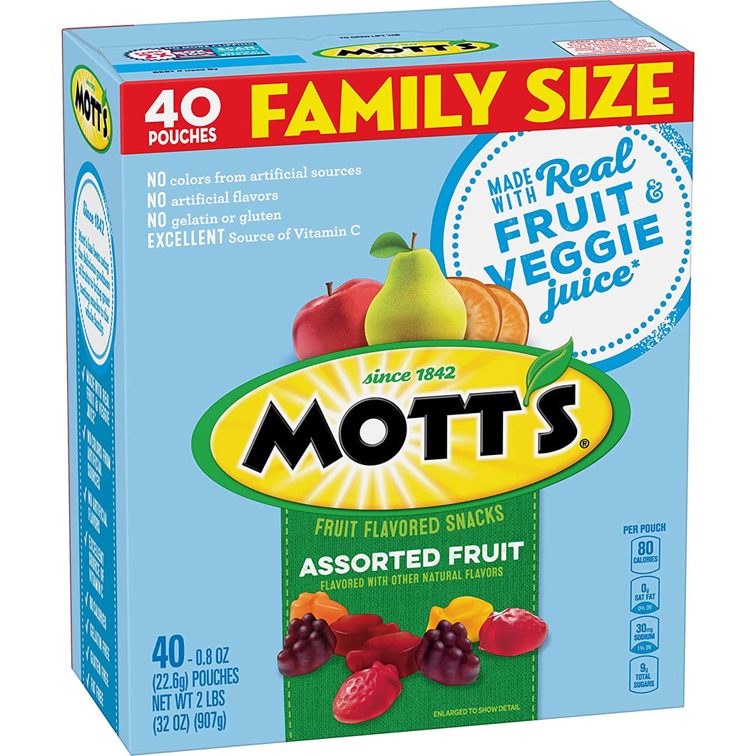 Mott's Medleys Fruit Snack 40ct