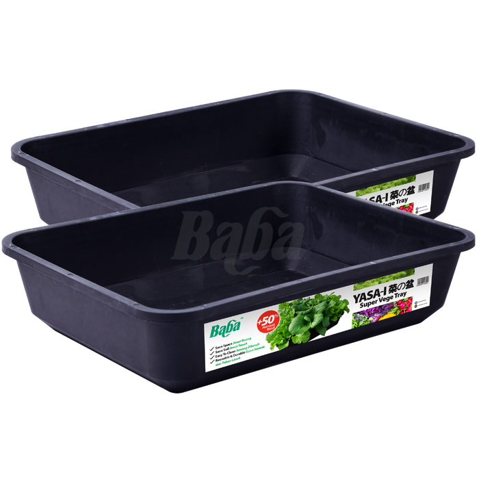 2pcs of Baba Yasa-i Super Vege Tray