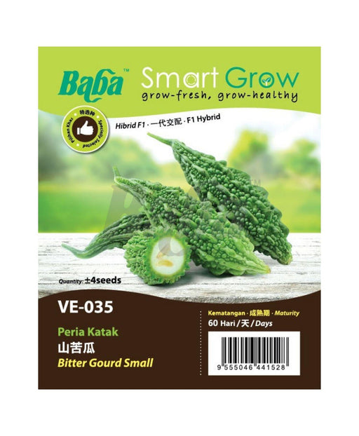 Baba Smart Grow Seed: VE-035 Bitter Gourd Small-Seeds-Baba E Shop