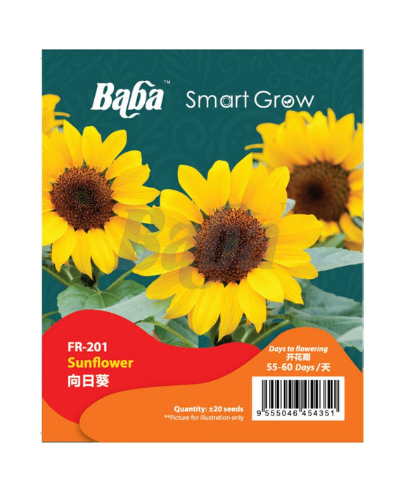 Baba Smart Grow Seed: FR-001 Sunflower