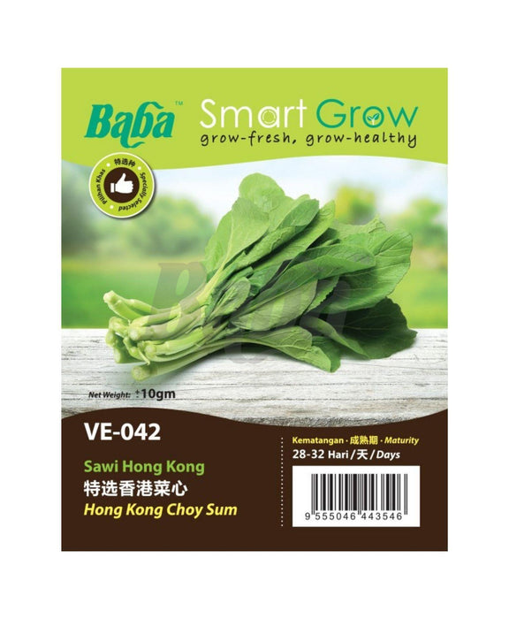 Baba Smart Grow Seed: VE-042 Hong Kong Choy Sum