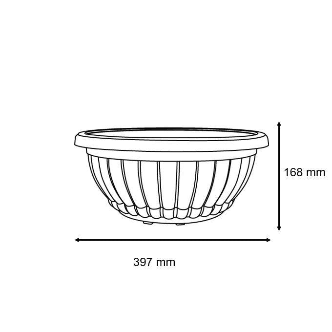 Baba 206 Biodegradable Flower Pot