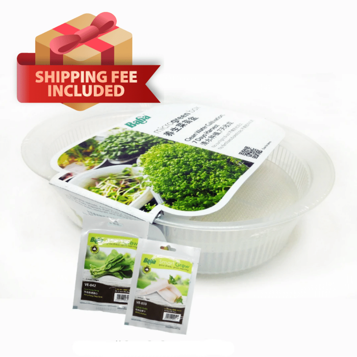 Baba Microgreen Box Package