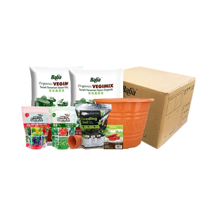 Melon & Beans Home Package - VE-017 F1 Extreme Yield Red Chili