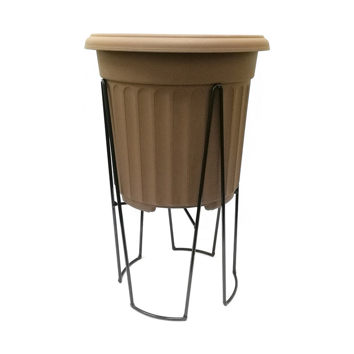 "WT - 94 Round Iron Stand (10"" Pot)"