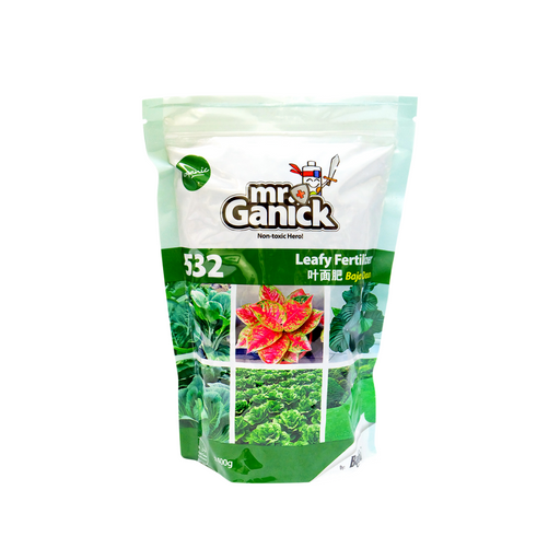 Mr Ganick 532 Organic Leafy Fertilizer (400G)-Organic Fertilizer & Pesticide-Baba E Shop