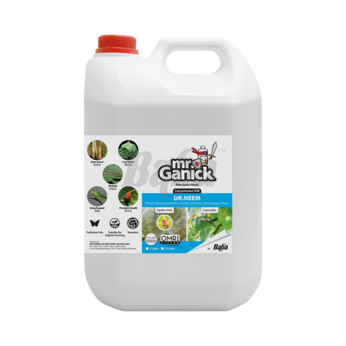 Farmer Pack- Mr Ganick Dr Neem Concentrated (5L)