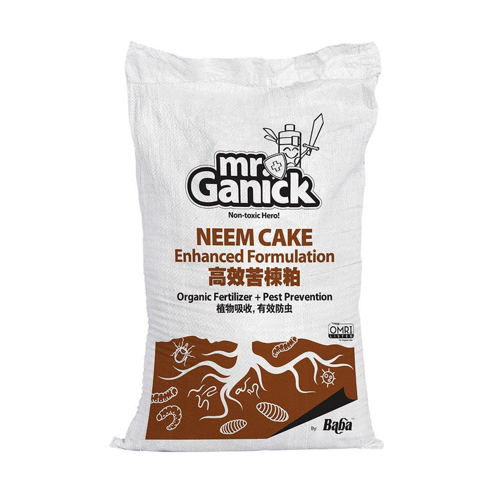 Farmer Pack- Mr Ganick Neem Cake Enhanced Formulation (20KG)