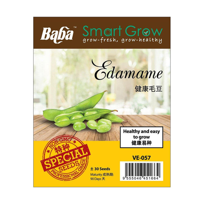 Plant Edamame at home!
