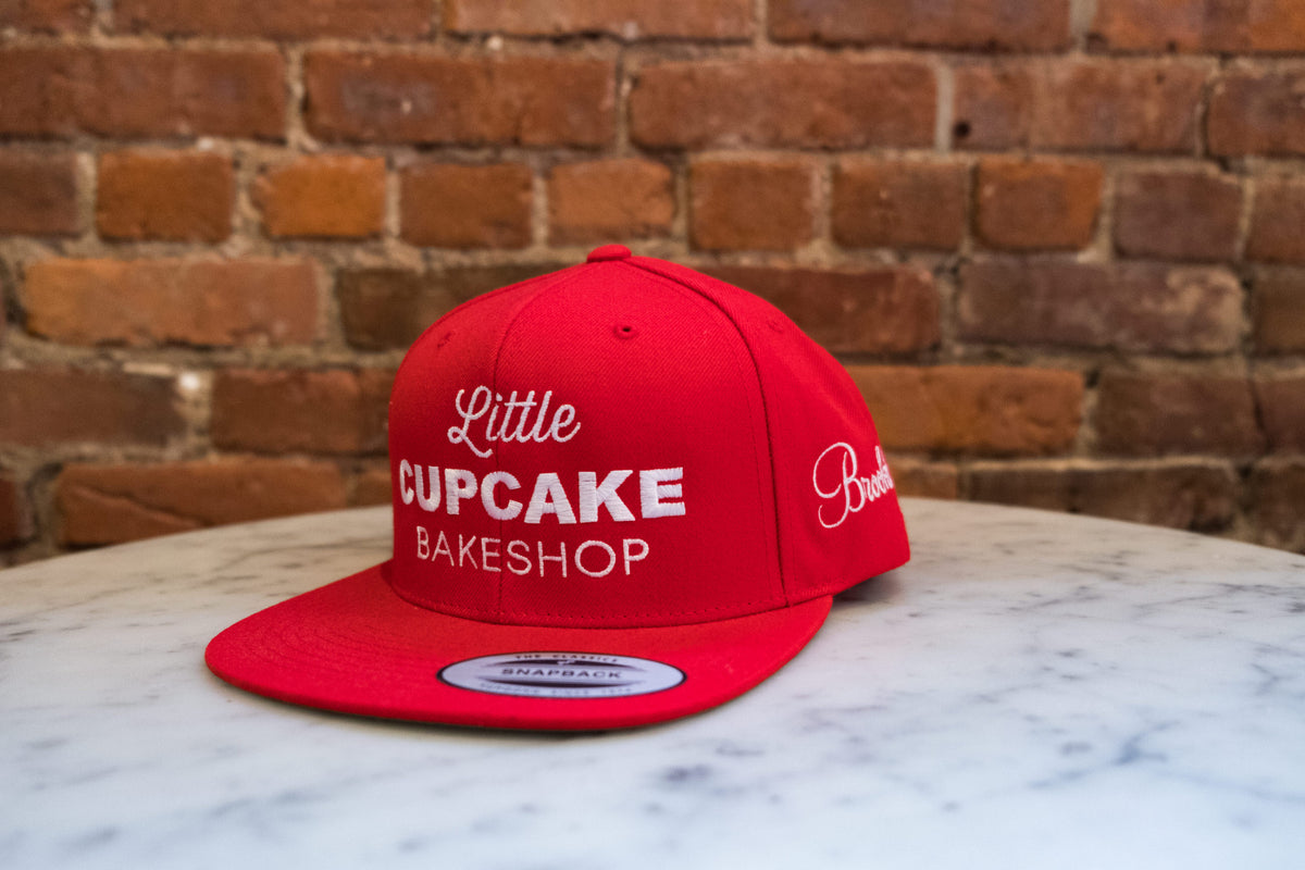 Snap Back Hat (Red Brooklyn Edition )