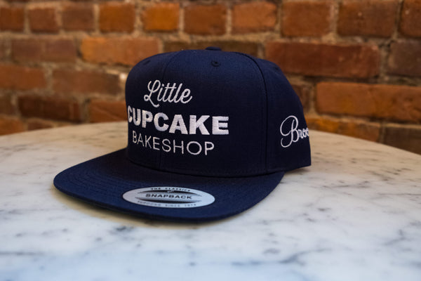 Navy Snap Back (Brooklyn edition)