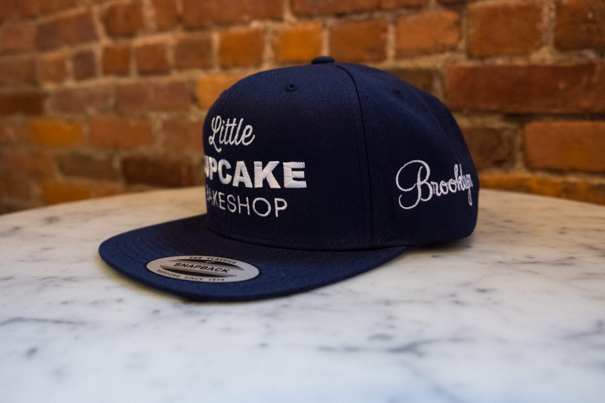 Snap Back Hat (Navy blue) Brooklyn edition
