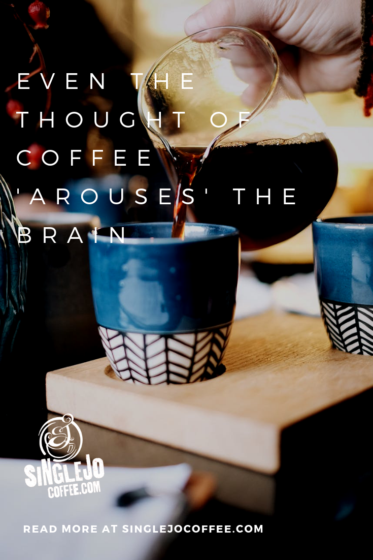 Even the Thought of Coffee 'Arouses' the Brain