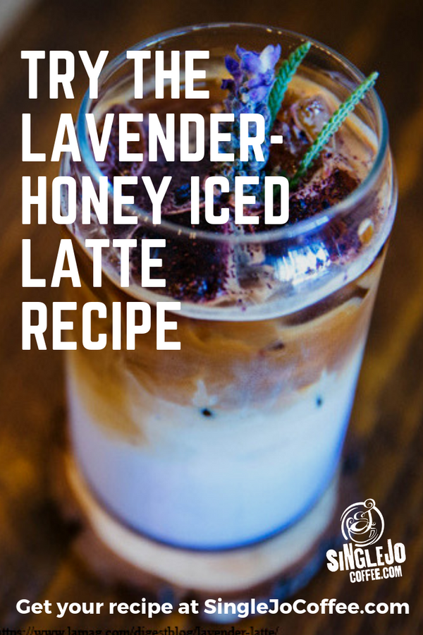 LAVENDER-HONEY ICED LATTE