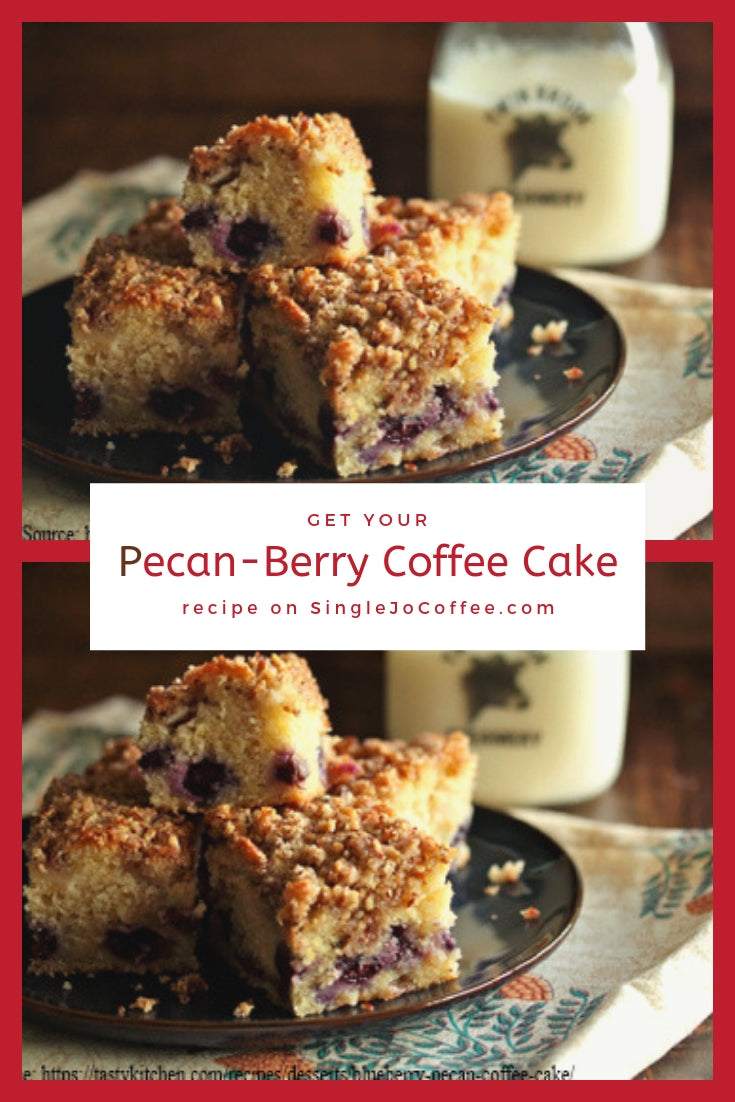 Pecan-Berry Coffee Cake