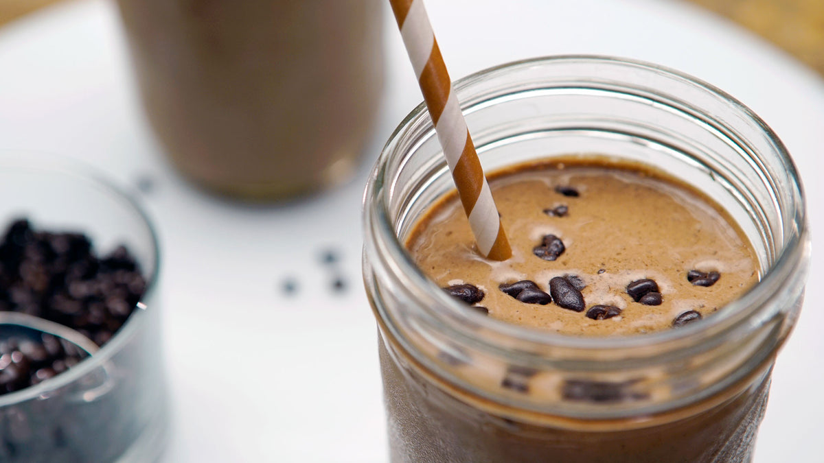Guilt-Free Mocha Smoothie