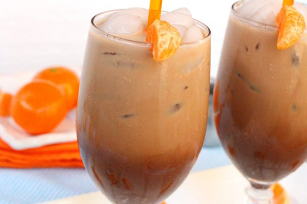 Iced Mandarin Orange Cafe Mocha: Delicious Iced Coffee Recipe to Quench Your Summer Thirst