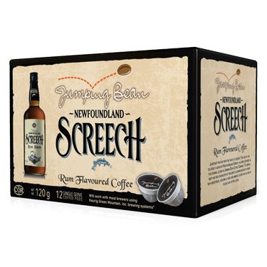 Jumping Bean Coffee - Screech Rum Flavor Coffee