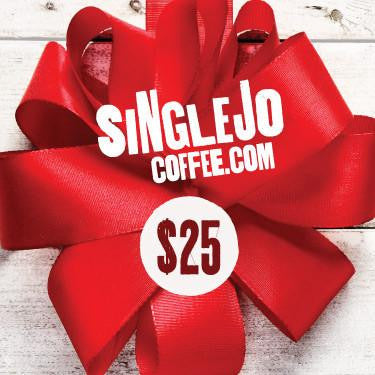SingleJoCoffee Gift Cards