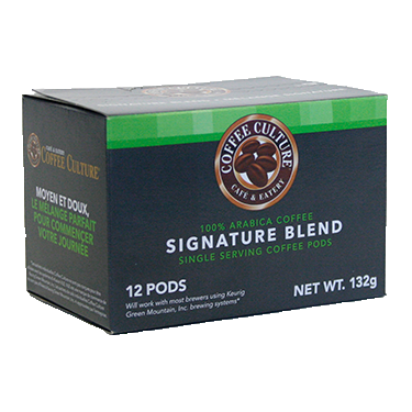 Coffee Culture Signature Blend 12ct Compostable
