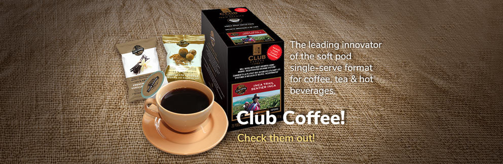 Club Coffee products
