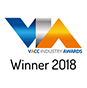 VACC industry awards - winner 2018