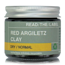 Load image into Gallery viewer, CLAY MASK 1#: RED ARGILETZ 45g