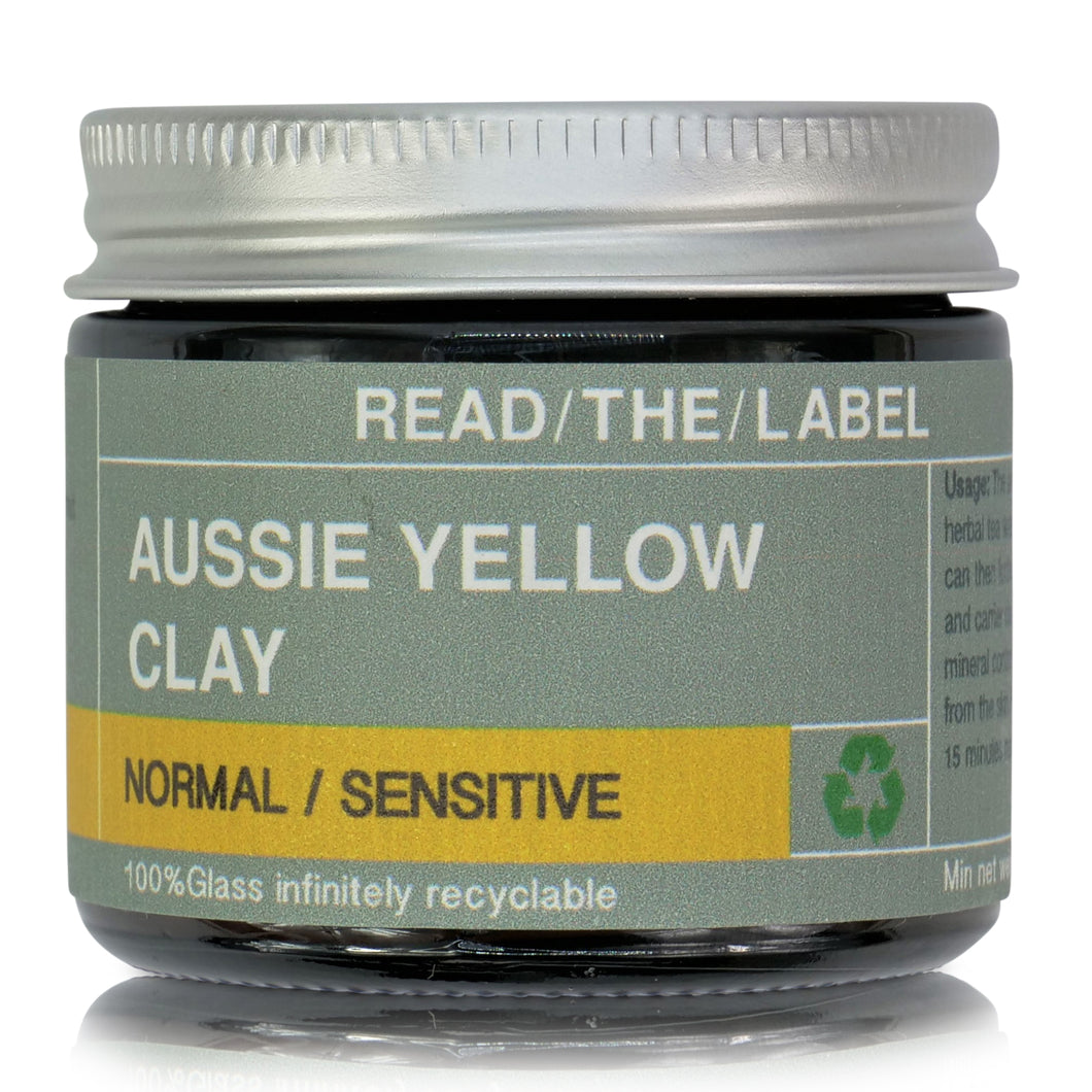 CLAY MASK 5#: YELLOW CLAY -SENSITIVE SKIN