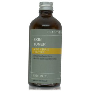 FACIAL TONER 2#: ORANGE FLOWER & ALOE VERA 100ml