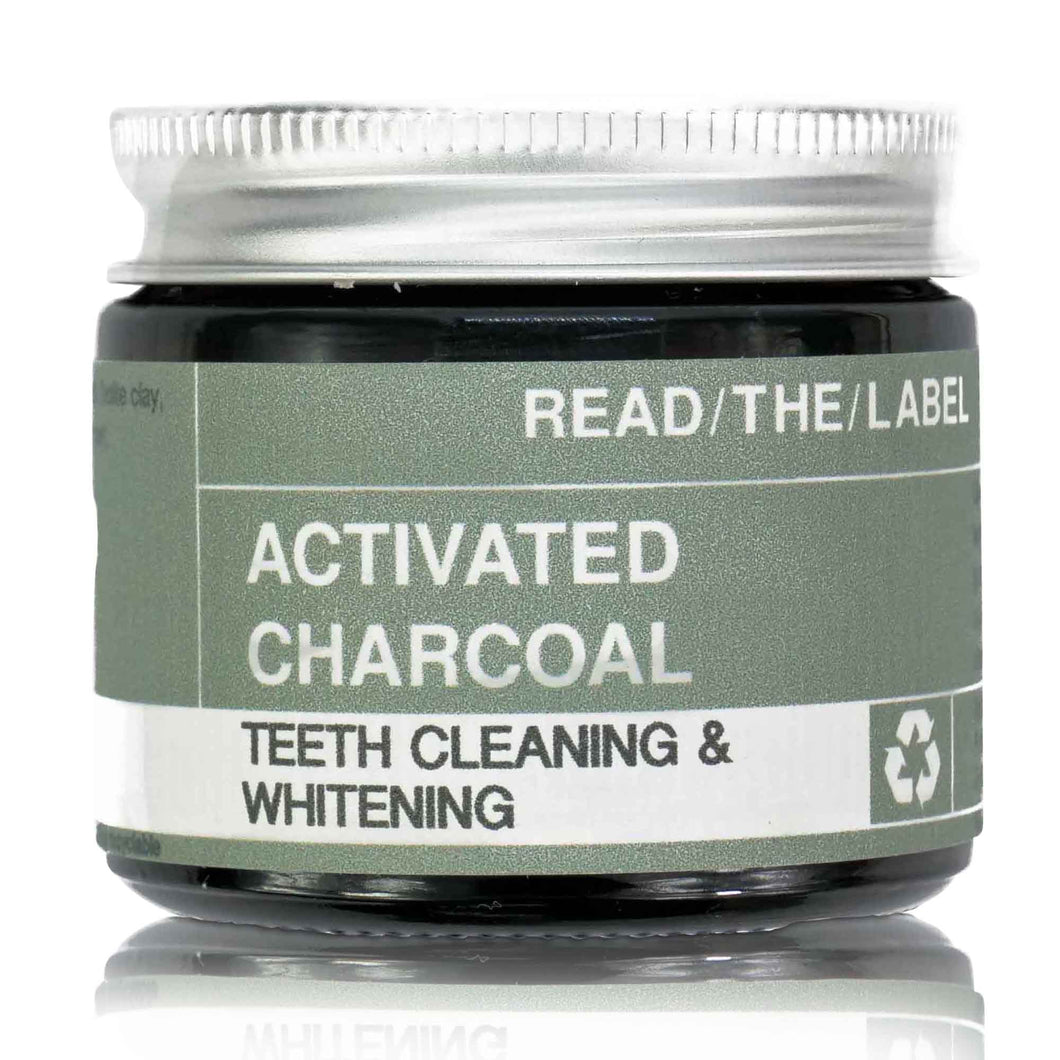 ACTIVATED CHARCOAL TEETH CLEANING