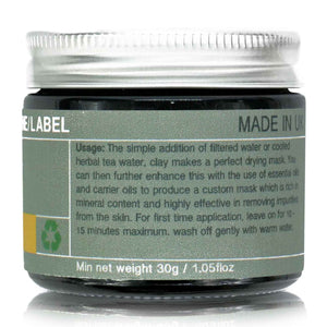CLAY MASK 4#: BLUE CLAY COMBINATION SKIN 45g