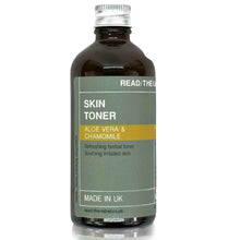 Load image into Gallery viewer, FACIAL TONER 3#: CHAMOMILE & ALOE VERA 100ml