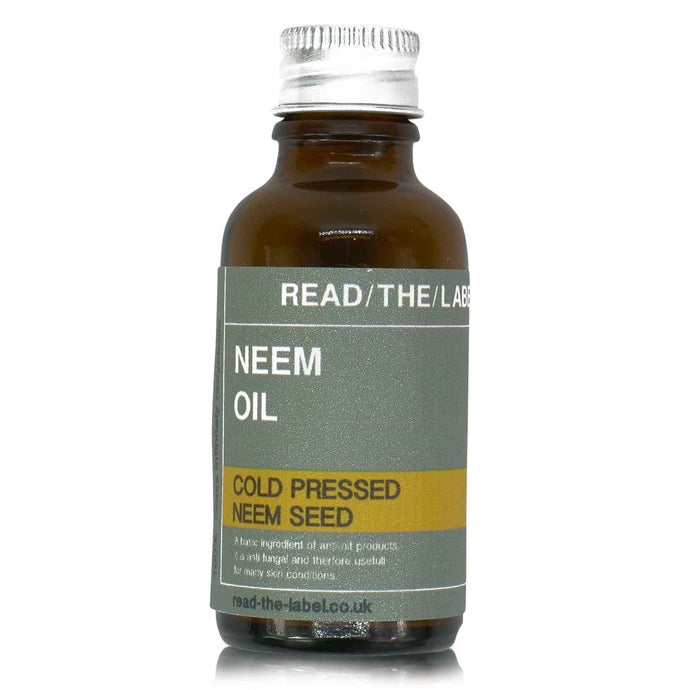 neem oil in brown 30ml glass bottle with aluminium cap