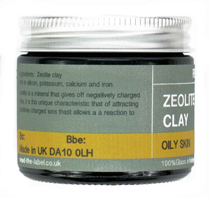CLAY MASK 6#: ZEOLITE CLAY - OILY SKIN