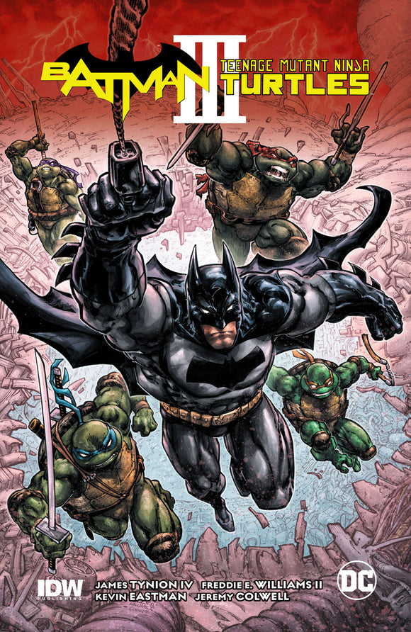 BATMAN/TEENAGE MUTANT NINJA TURTLES III HC