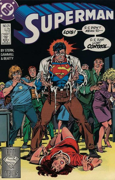 SUPERMAN #25 (NEWSSTAND)