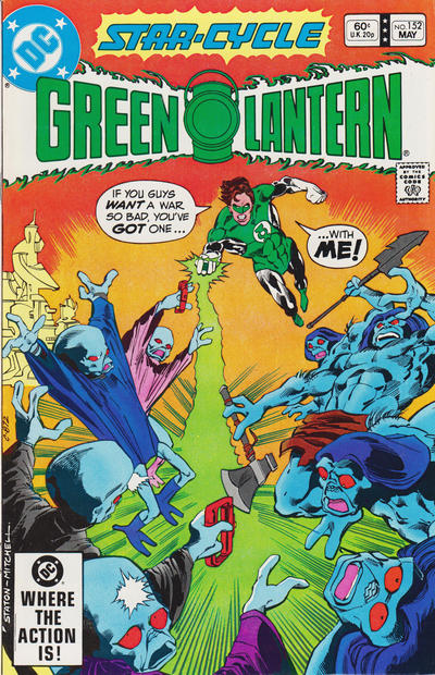 GREEN LANTERN #152 (NEWSSTAND)