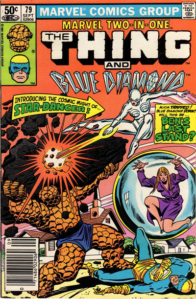MARVEL TWO IN ONE #79 (DIRECT)
