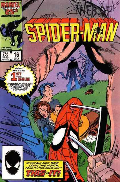 WEB OF SPIDER MAN #16 (NEWSSTAND)