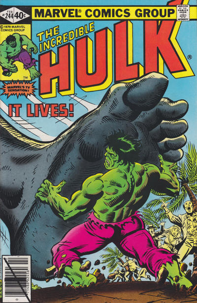 INCREDIBLE HULK 244 (DIRECT)