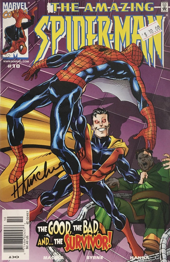 AMAZING SPIDER MAN 1999 #10 (SIGNED BY HOWARD MACKIE)