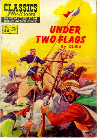 CLASSICS ILLUSTRATED #86 UNDER TWO FLAGS