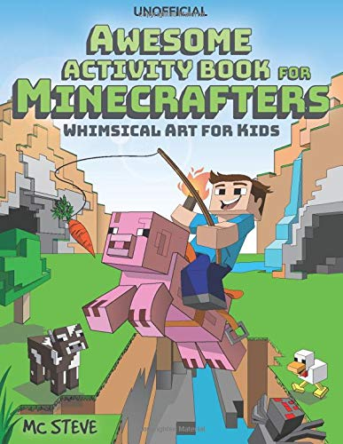 AWESOME ACTIVITY BOOK FOR MINECRAFTERS