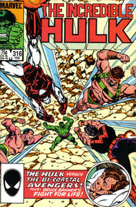 INCREDIBLE HULK #316
