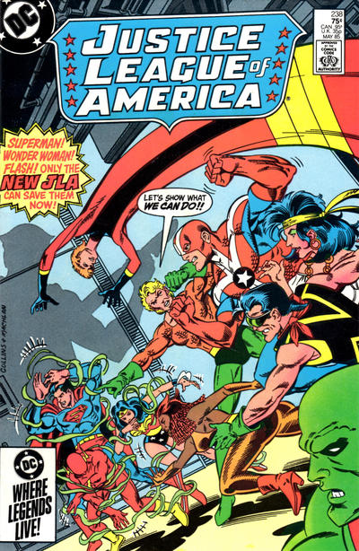 JUSTICE LEAGUE OF AMERICA #238 (NEWSSTAND)