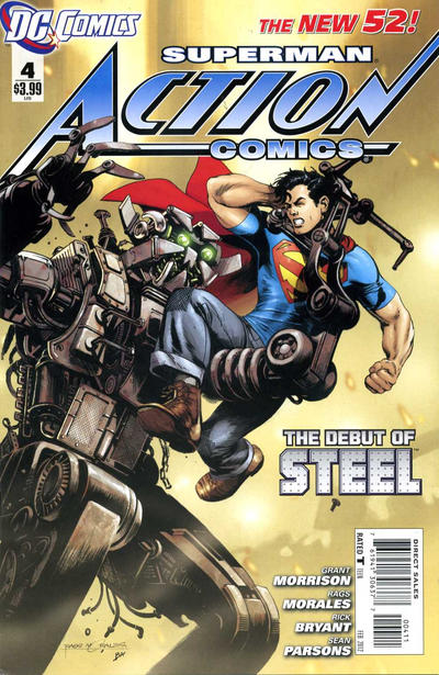 SUPERMAN ACTION COMICS 04-07 BUNDLE
