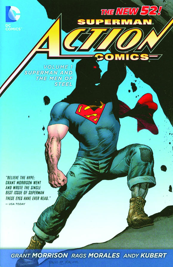 SUPERMAN ACTION COMICS HC VOL 01 SUPERMAN AND THE MEN OF STEEL