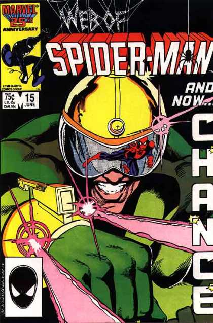 WEB OF SPIDER MAN #15 (NEWSSTAND)